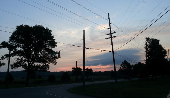 This is what getting centered looks like to me. The sunrise in Franklin, Tennessee.